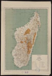Madagascar, carte minière