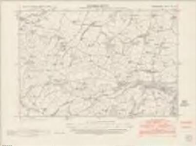 Denbighshire XIII.SE - OS Six-Inch Map