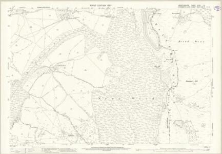 Herefordshire XXXVI.14 (includes: Castlemorton; Colwall; Eastnor; Ledbury Rural; Little Malvern) - 25 Inch Map