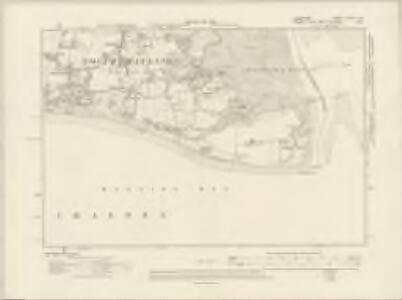 Hampshire & Isle of Wight LXXXIV.SE - OS Six-Inch Map
