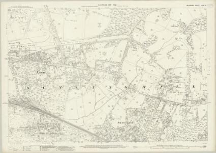 Berkshire XXXIX.16 (includes: Sunninghill) - 25 Inch Map