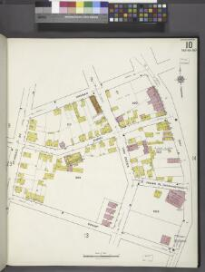 Staten Island, V. 1, Plate No. 10 [Map bounded by Hannah, Bay, Grant, St. Paul's Ave.]