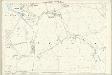 Essex (1st Ed/Rev 1862-96) XIV.2 (includes: Debden) - 25 Inch Map
