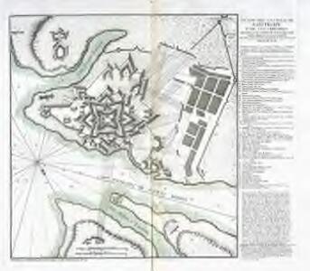 Plano del castillo de San Felipe, y de sus cercanias