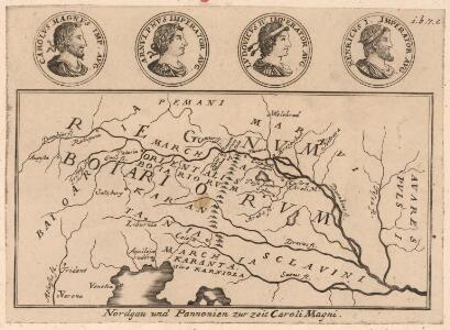 Nordgau und Pannonien zu Zeit Caroli Magni