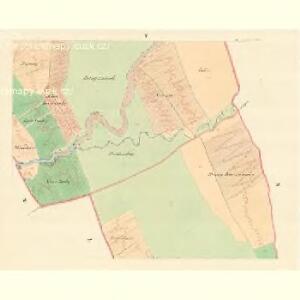 Hrozna Lhotta - m0909-1-005 - Kaiserpflichtexemplar der Landkarten des stabilen Katasters