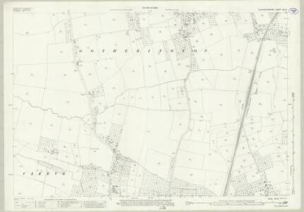 Gloucestershire XIX.8 (includes: Bishops Cleeve; Gotherington; Woodmancote) - 25 Inch Map