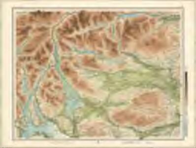 Trossachs, Loch Lomond - Bartholomew's 'Survey Atlas of Scotland'