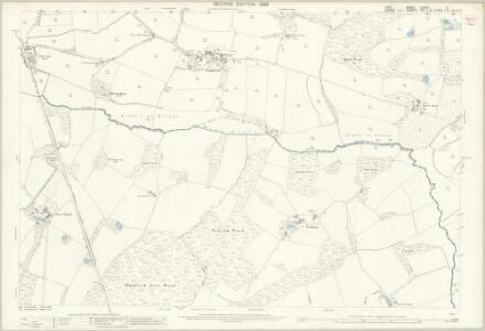 Kent LXXVIII.11 (includes: Bodiam; Hawkhurst; Salehurst; Sandhurst) - 25 Inch Map