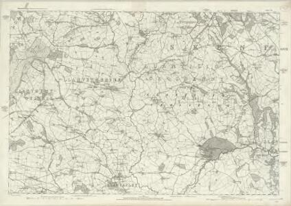 Monmouthshire IV - OS Six-Inch Map