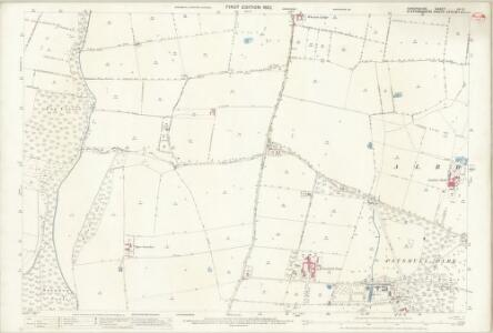Shropshire LII.3 (includes: Beckbury; Boningale; Patshull) - 25 Inch Map