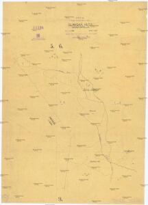 Kopia s mapy katastrálnej obce Slanská Huta