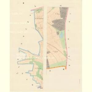 Zaborzy - c9014-1-002 - Kaiserpflichtexemplar der Landkarten des stabilen Katasters