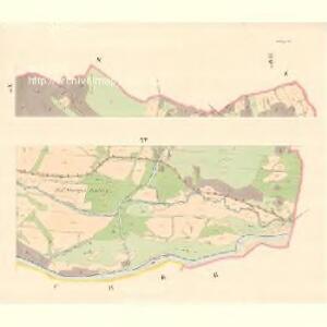 Zubrzy (Zubřzy) - m3614-1-013 - Kaiserpflichtexemplar der Landkarten des stabilen Katasters