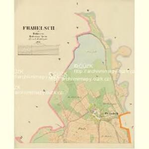 Frahelsch - c1676-1-001 - Kaiserpflichtexemplar der Landkarten des stabilen Katasters