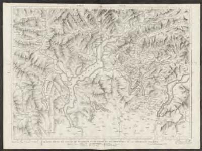 Majeure partie des cantons de Bellinzona et de Lugano et les frontières de la République Italienne