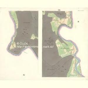 Ostrawitz - m2189-1-009 - Kaiserpflichtexemplar der Landkarten des stabilen Katasters
