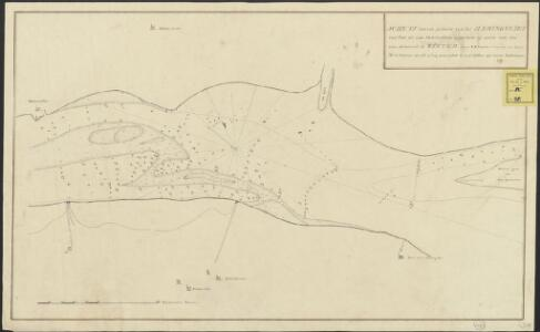 Schets van een gedeelte van het Haringvliet van Stad tot aan Hellevoetsluis