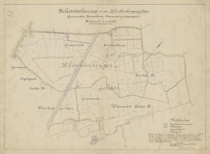Klinkenbergerpolder, gemeente Sassenheim, Warmond en Oegstgeest.