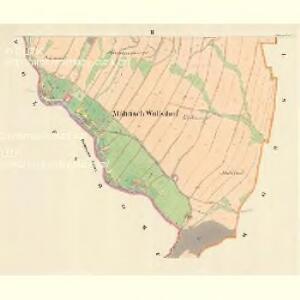 Mährisch Wolfsdorf (Wlkowice) - m1874-1-002 - Kaiserpflichtexemplar der Landkarten des stabilen Katasters