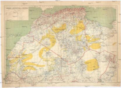 Sahara occidental et central