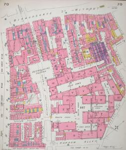Insurance Plan of City of London Vol. III: sheet 70