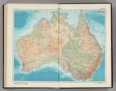 239-240.  Australia.  The World Atlas.