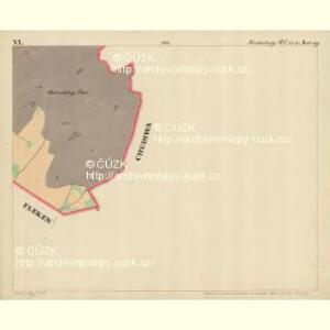 Fuchsberg - c4136-3-006 - Kaiserpflichtexemplar der Landkarten des stabilen Katasters