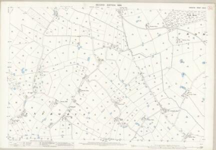 Cheshire XXVI.5 (includes: Antrobus; Stretton) - 25 Inch Map