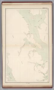 Sheet No. 6.  (Clarence Strait, Kasaan Bay, Wales Island, Tlevak Strait).
