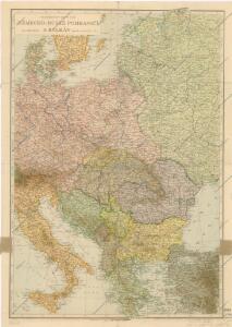 Německo - ruské pohraničí a Balkán