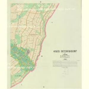 Ober Hennersdorf - c2060-1-003 - Kaiserpflichtexemplar der Landkarten des stabilen Katasters