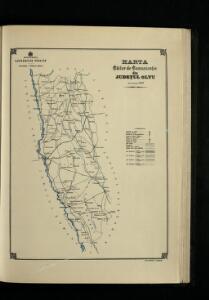 Harta Cailor de Comunicatie din Judetul Oltu