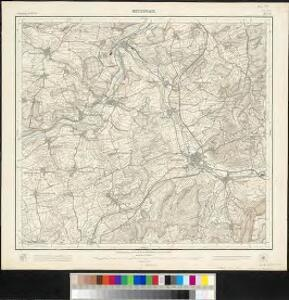 Meßtischblatt [7421] : Metzingen,1901