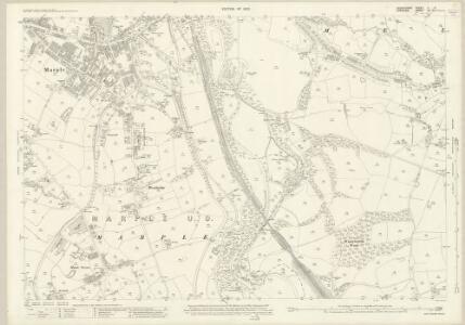 Derbyshire V.9 (includes: Marple) - 25 Inch Map