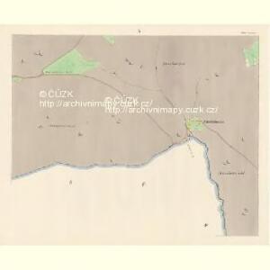 Sattel (Sedloňow) - c6810-1-009 - Kaiserpflichtexemplar der Landkarten des stabilen Katasters