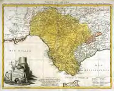 Sevilla regnum in suas archiepiscopatos episcopatos et praefecturas divisum