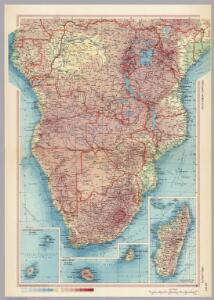 Africa - South.  Pergamon World Atlas.