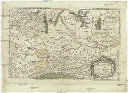 Carta dello stato di Milano e suoi confini