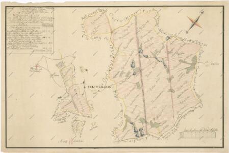 Geometrický plán lesů ve velechvínském revíru s vyznačením 110, 130, 140 a 180letého obmýtí 1