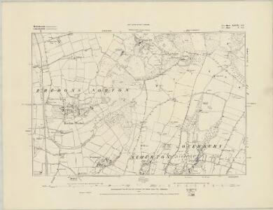 Worcestershire XLVIII.SW - OS Six-Inch Map