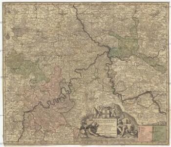 Trevirensis archi-episcopatus et electoratus juxta omnes suas praefecturas cum confini tractu Eyfaliae recentissime et accuratissime delineat