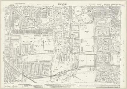 Lancashire CXI.2 (includes: Manchester; Stretford) - 25 Inch Map