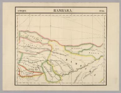Bambara. Afrique 20.