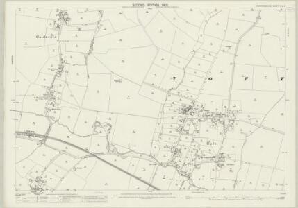 Cambridgeshire XLVI.6 (includes: Caldecote; Great Eversden; Hardwick; Kingston; Toft) - 25 Inch Map