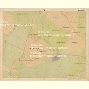 Pernek - c5699-1-010 - Kaiserpflichtexemplar der Landkarten des stabilen Katasters