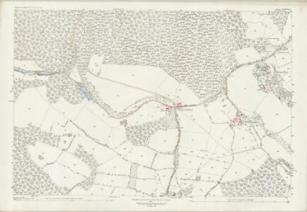 Gloucestershire XXXVIII.3 (includes: Coleford; Newland; Staunton) - 25 Inch Map