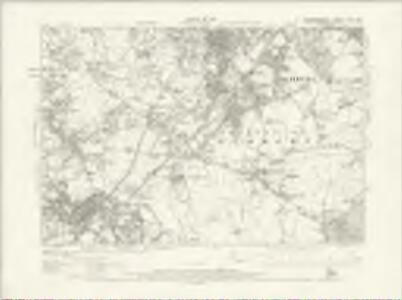 Staffordshire LXXII.NW - OS Six-Inch Map