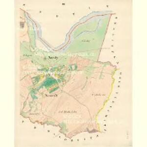 Austy - m3237-1-002 - Kaiserpflichtexemplar der Landkarten des stabilen Katasters