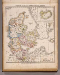 Danemark, Schleswig, Holstein, Lauenburg.